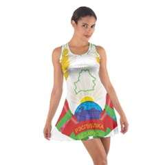 Coat of Arms of The Republic of Belarus Cotton Racerback Dress