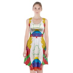 Coat Of Arms Of The Republic Of Belarus Racerback Midi Dress