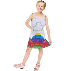 Coat of Arms of The Republic of Belarus Kids  Tunic Dress