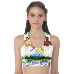 Coat of Arms of Belize Sports Bra