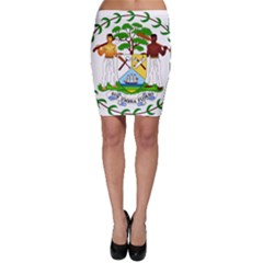 Coat of Arms of Belize Bodycon Skirt