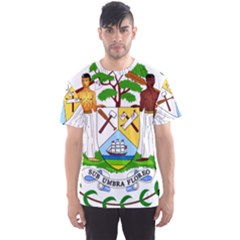 Coat of Arms of Belize Men s Sport Mesh Tee