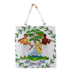 Coat of Arms of Belize Grocery Tote Bag