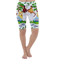 Coat of Arms of Belize Cropped Leggings