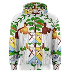 Coat of Arms of Belize Men s Zipper Hoodie