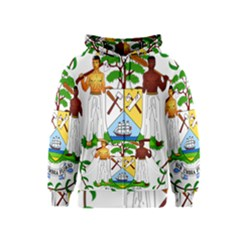 Coat of Arms of Belize Kids  Zipper Hoodie