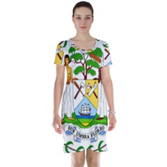 Coat of Arms of Belize Short Sleeve Nightdress