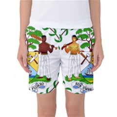 Coat of Arms of Belize Women s Basketball Shorts