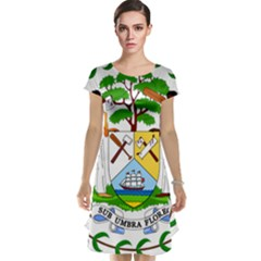 Coat of Arms of Belize Cap Sleeve Nightdress