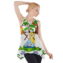 Coat of Arms of Belize Side Drop Tank Tunic