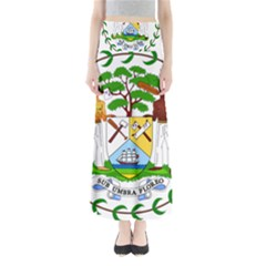 Coat of Arms of Belize Maxi Skirts