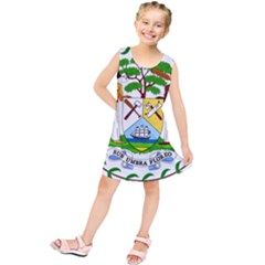Coat of Arms of Belize Kids  Tunic Dress