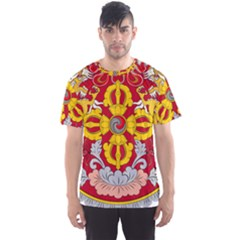 National Emblem of Bhutan Men s Sport Mesh Tee