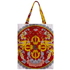 National Emblem of Bhutan Zipper Classic Tote Bag