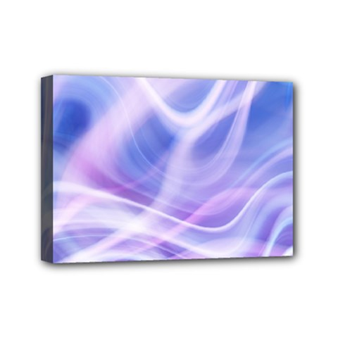 Abstract Graphic Design Background Mini Canvas 7  x 5