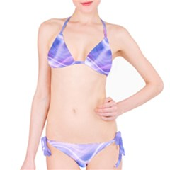 Abstract Graphic Design Background Bikini Set