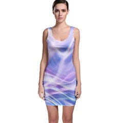 Abstract Graphic Design Background Sleeveless Bodycon Dress