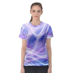 Abstract Graphic Design Background Women s Sport Mesh Tee