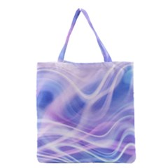 Abstract Graphic Design Background Grocery Tote Bag