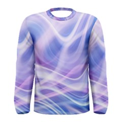 Abstract Graphic Design Background Men s Long Sleeve Tee
