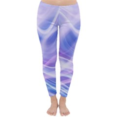 Abstract Graphic Design Background Classic Winter Leggings