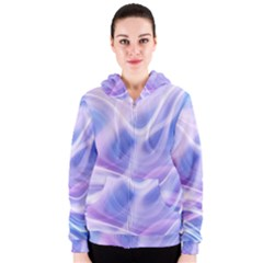 Abstract Graphic Design Background Women s Zipper Hoodie