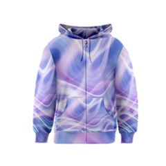 Abstract Graphic Design Background Kids  Zipper Hoodie