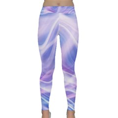 Abstract Graphic Design Background Classic Yoga Leggings