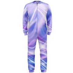 Abstract Graphic Design Background OnePiece Jumpsuit (Men)