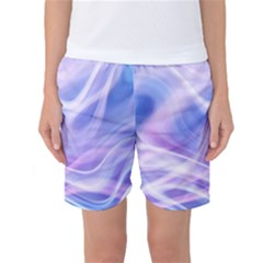 Abstract Graphic Design Background Women s Basketball Shorts