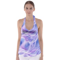 Abstract Graphic Design Background Babydoll Tankini Top