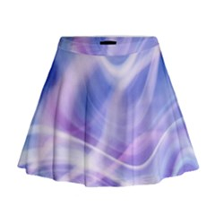 Abstract Graphic Design Background Mini Flare Skirt