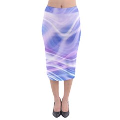 Abstract Graphic Design Background Midi Pencil Skirt
