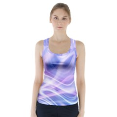 Abstract Graphic Design Background Racer Back Sports Top