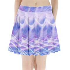 Abstract Graphic Design Background Pleated Mini Skirt