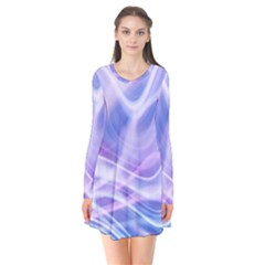 Abstract Graphic Design Background Flare Dress