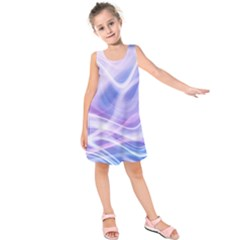 Abstract Graphic Design Background Kids  Sleeveless Dress