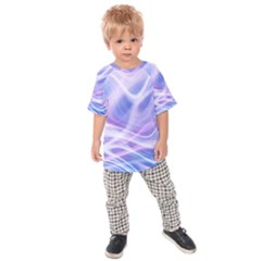 Abstract Graphic Design Background Kids  Raglan Tee