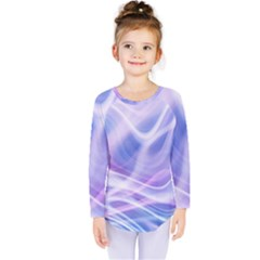Abstract Graphic Design Background Kids  Long Sleeve Tee