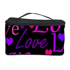Love pattern 2 Cosmetic Storage Case