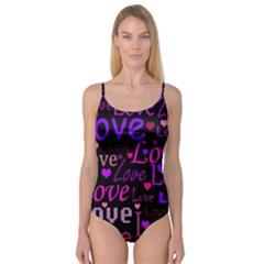 Love pattern 2 Camisole Leotard