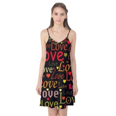 Love pattern 3 Camis Nightgown