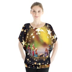 Christmas Crib Virgin Mary Joseph Jesus Christ Three Kings Baby Infant Jesus 4000 Blouse