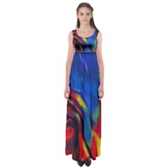 COLORS OF LIFE byWBK: Empire Waist Maxi Dress