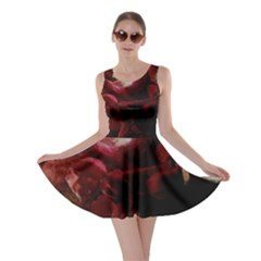 Dark Red Candlelight Candles Skater Dress