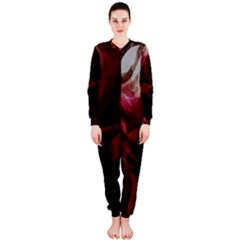 Dark Red Candlelight Candles OnePiece Jumpsuit (Ladies)
