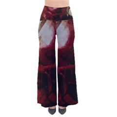 Dark Red Candlelight Candles Pants