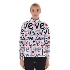 Love pattern - red Winterwear