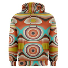 Oval Circle Patterns Men s Pullover Hoodie