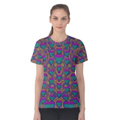Merry Love In Heart  Time Women s Cotton Tee